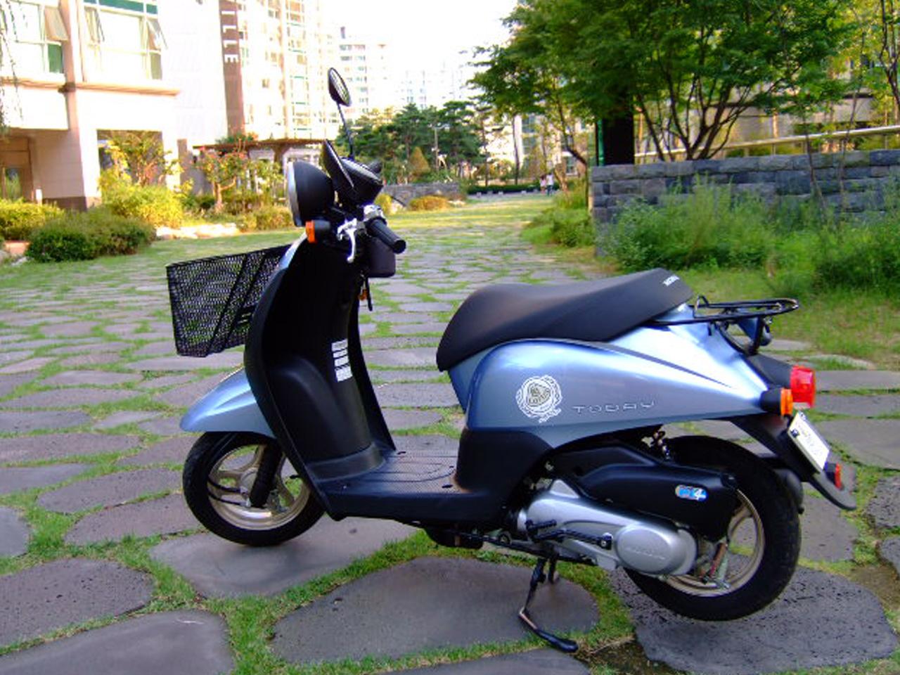 【本田honda today摩托车图片】_摩托车图片库_摩托车