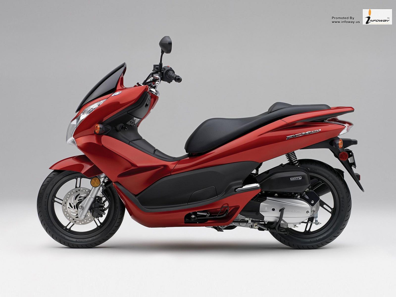 本田honda pcx150摩托车图片