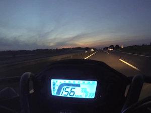 本田Honda CB500F 最高时速测试视频