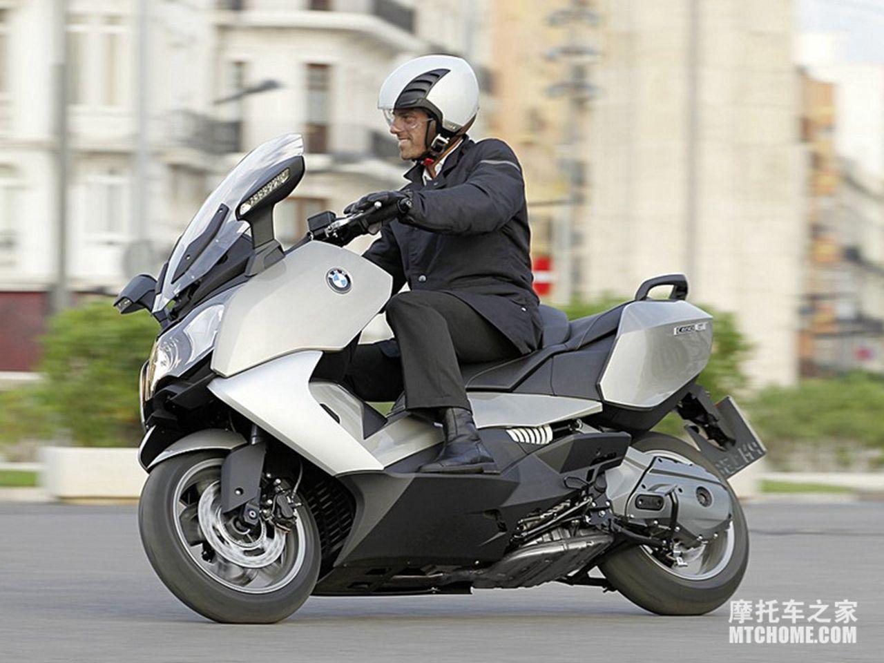 【宝马bmw C650gt骑乘图片】 摩托车图片库 摩托车之家