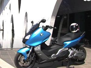 宝马BMW C600 SPORT踏板车摩托车视频