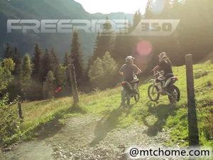 KTM FREERIDE 350 摩托车视频