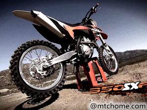 KTM 350 SX-F 摩托车视频
