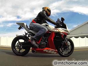 KTM 1190 RC8 摩托车视频