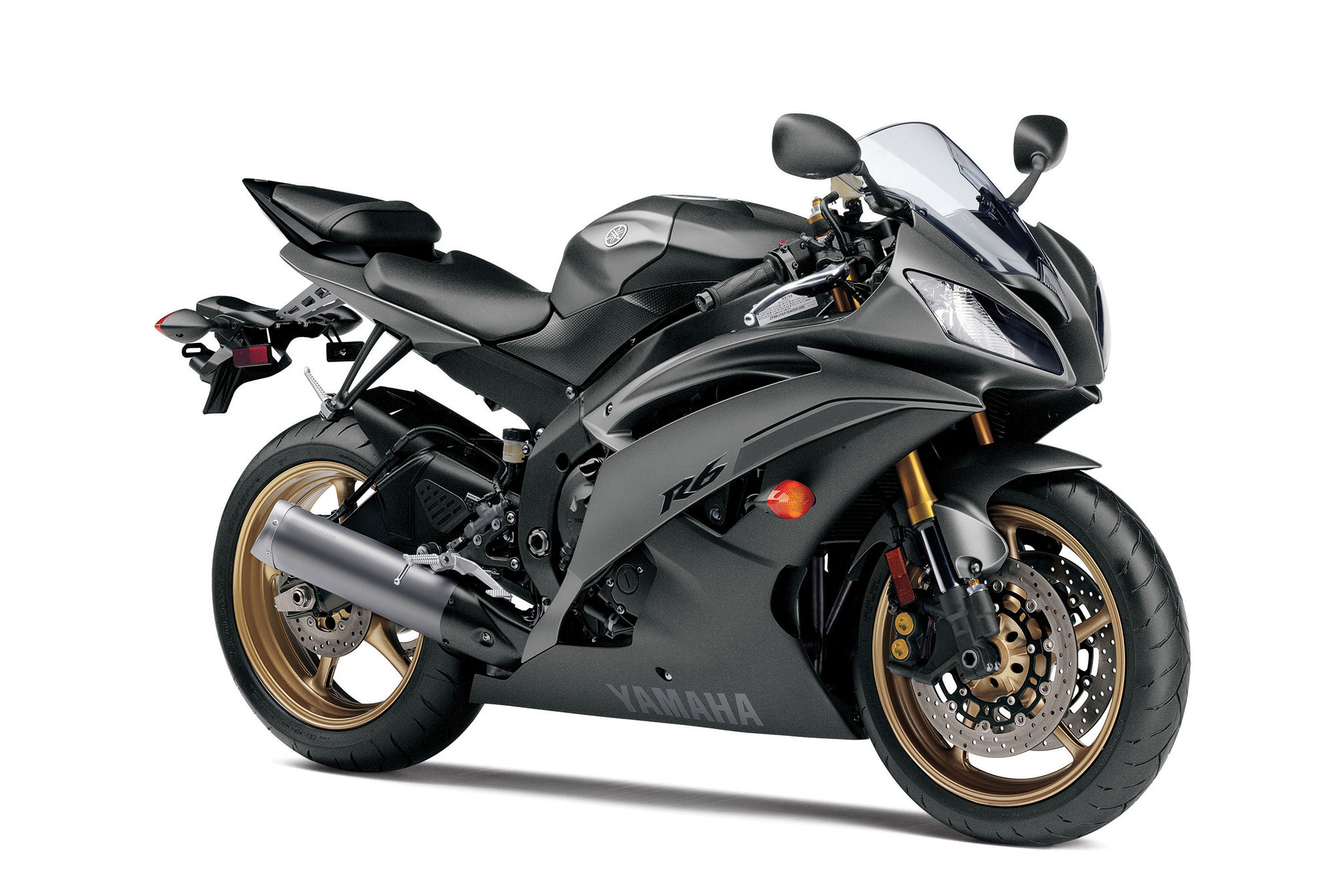 yamaha r6 black 2014 - photo #2