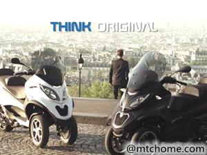 Piaggio 比亚乔 mp3 500 LT abs 摩托车视频
