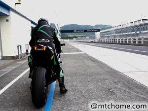 川崎 Kawasaki Ninja H2R 赛道测试