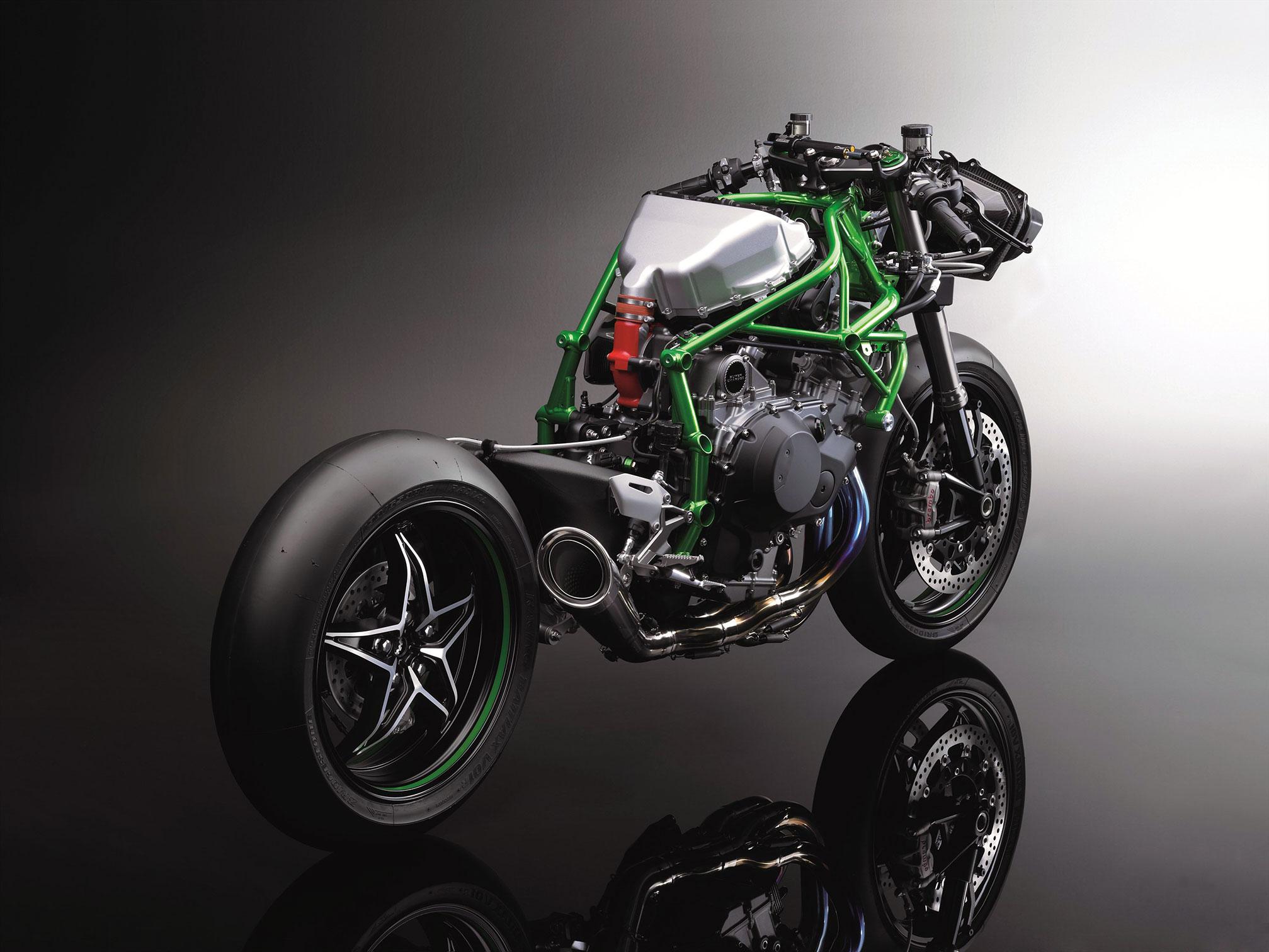 【川崎ninja H2r摩托车高清壁纸】 摩托车图片库 摩托车之家