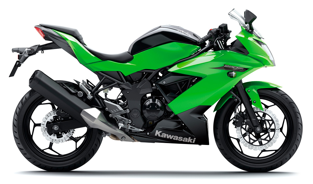 川崎摩托车 小忍者 ninja 250sl abs (单缸版)