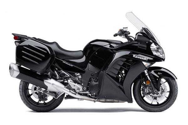 川崎摩托车 kawasaki 旅行车 巡航摩托 concours 14 abs 2014