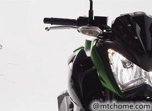 川崎摩托车Z300 2015官方宣传视频