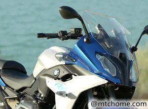 宝马街跑摩托车R1200RS细节展示