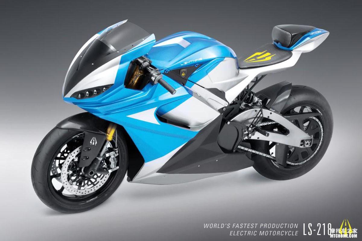 时速超300公里的电动摩托车lighting