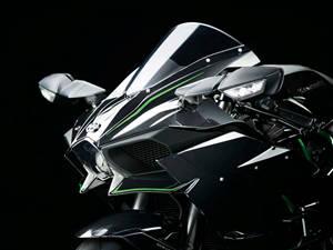 川崎摩托车 Kawasaki H2 官方图片