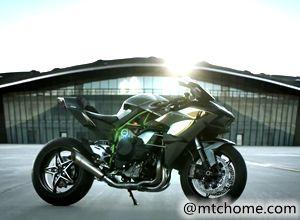 川崎Kawasaki摩托车H2R官方视频