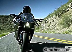 川崎摩托车Kawasaki H2官方视频