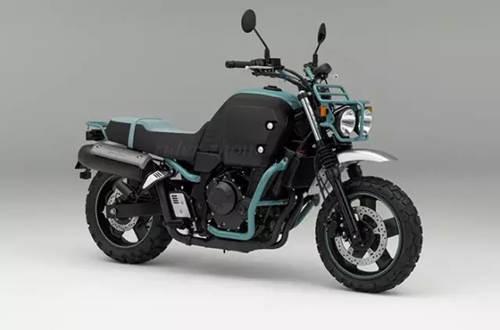 """本田新车""""斗牛犬""""(并列双缸400)摩托车"""