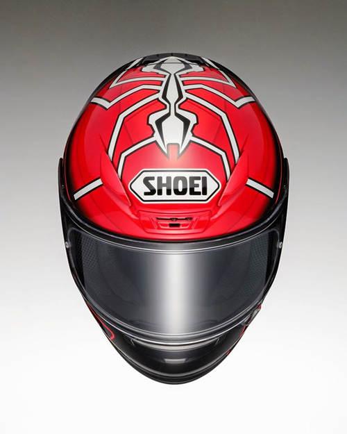手绘摩托车头盔图案