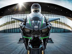 川崎摩托车 Kawasaki H2R 官方图片