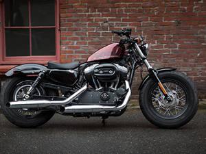 哈雷forty-eight摩托车图片