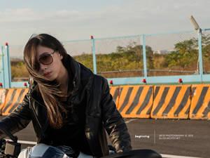 重机与美女 Monster 796 & Ti Ti Yang 写真图集
