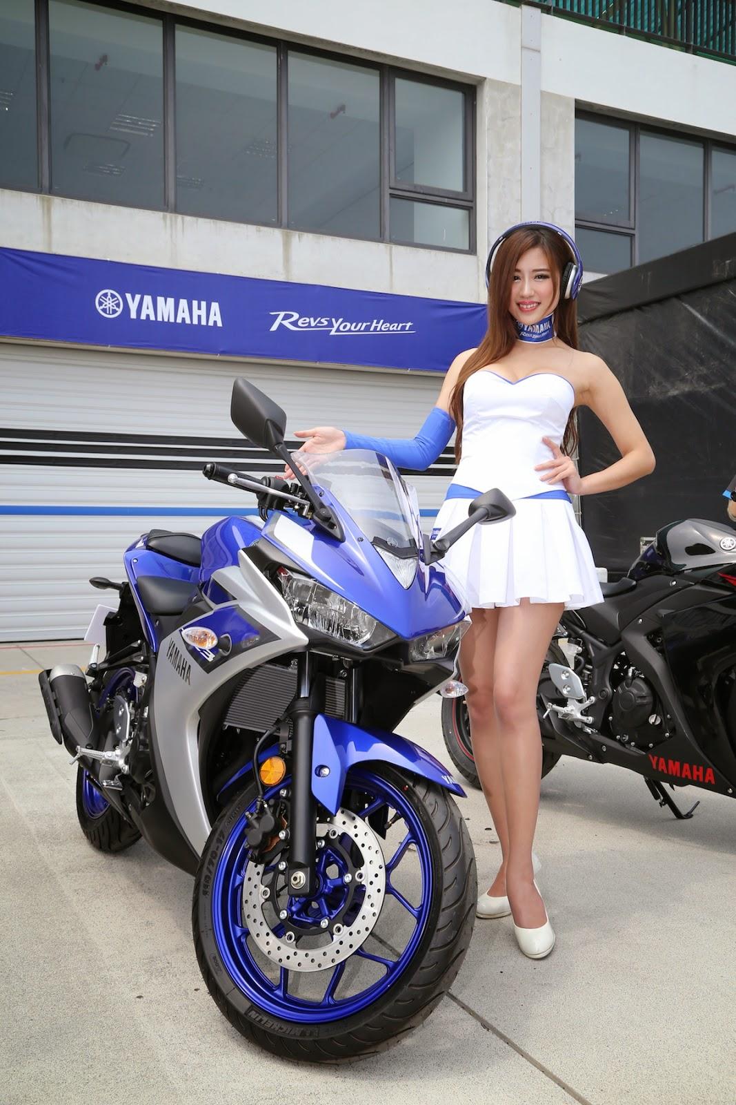 Yamaha yzf r3 autos post for Yamaha r3 mpg