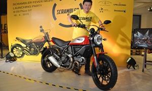 2015 Ducati Scrambler Launch Party写真图集