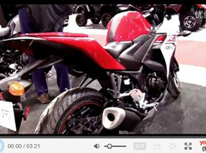 雅马哈2015款YZF-R3新车实拍
