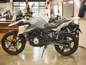 【实拍】宝马摩托车G310GS图片
