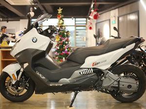 【实拍】宝马摩托车C650 Sport图片