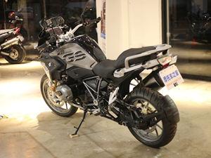 宝马摩托车R1200GS到店实拍图片