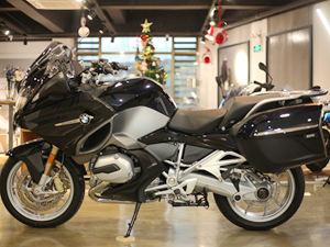 【实拍】宝马摩托车R1200RT实拍图片