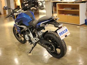 宝马摩托车G310R到店实拍图片