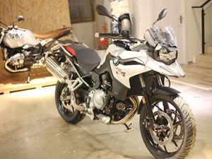宝马摩托车F750GS到店实拍